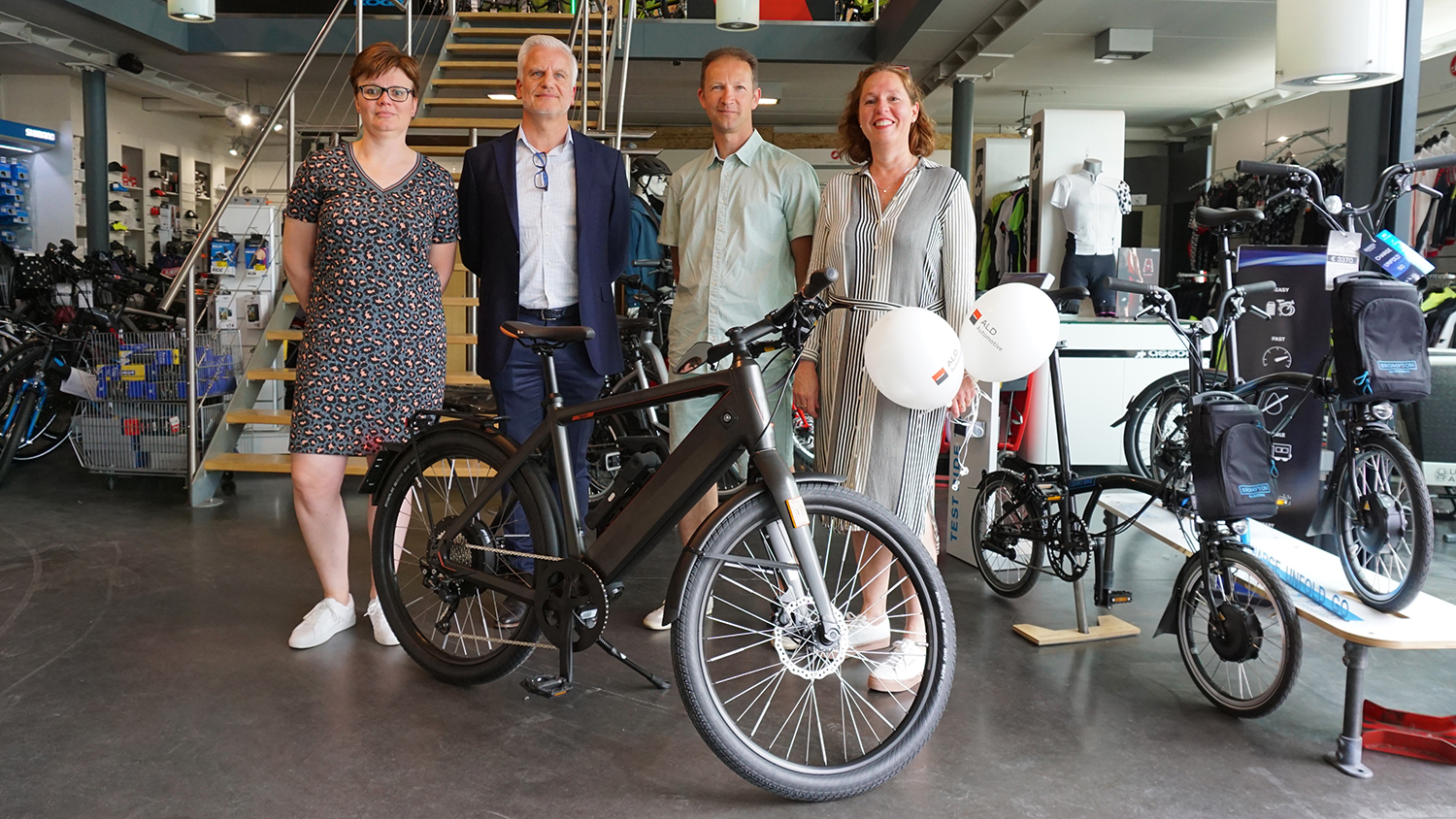 Atlas Copco en ALD Automotive zijn pioniers in fietsleasing